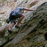 Possibly my favorite hobby - Rock Climbing!