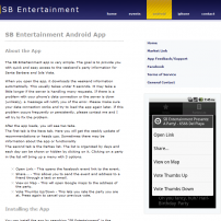 SB Entertainment: The site and apps I built to provide convenient listings of safe and entertaining events for UCSB students